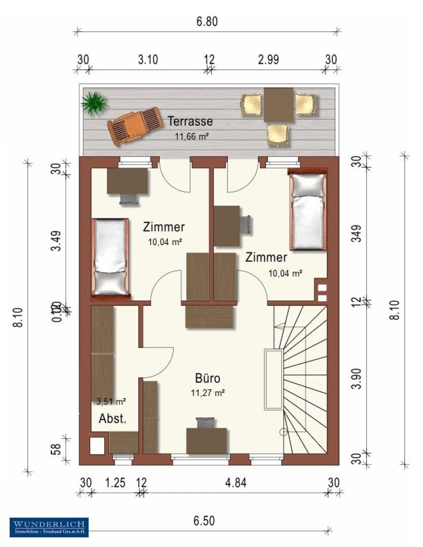 Plan Dachgeschoß