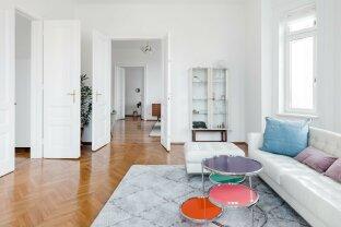 Schöne Stilaltbauwohnung 4 Zimmer, Balkon, Fernblick,  möbliert, Nähe Schönbrunn