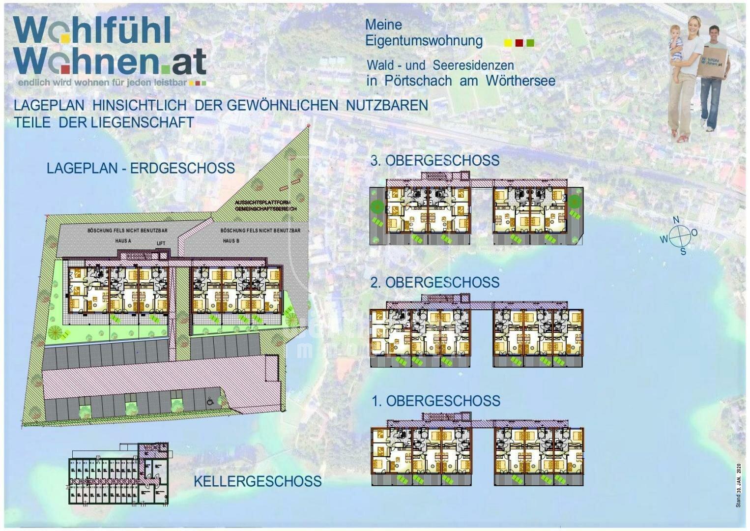 Lageplan Allgemeinflächen