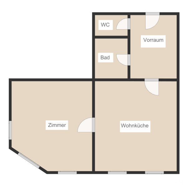 Altbau 2-Zimmerwohnung bei der Schmelz /  / 1150Wien / Bild 7