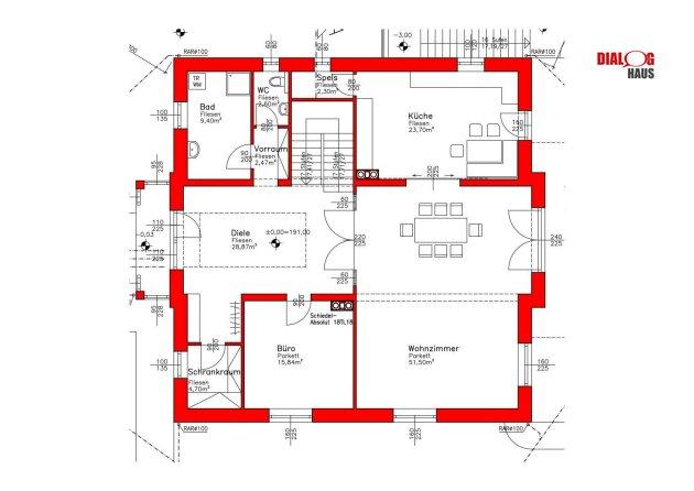 Herrschaftliche  Villa in Hainburg