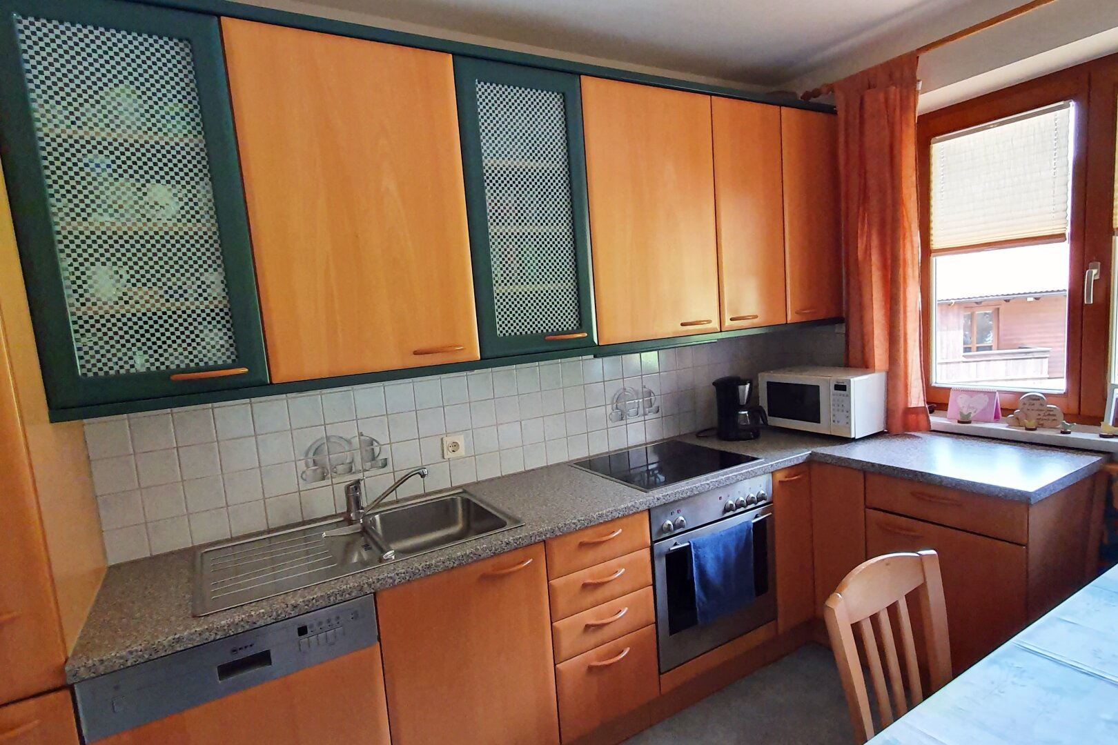 möblierte Küche Ansicht 1, 4-Zimmer-Wohnung, Scheffau am Wilden Kaiser