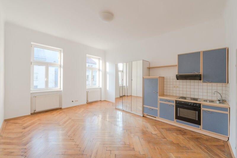 **NEU++ Modernisierungsbedürftige 1-Zimmer-Wohnung in aufstrebender Lage! nahe Augarten!