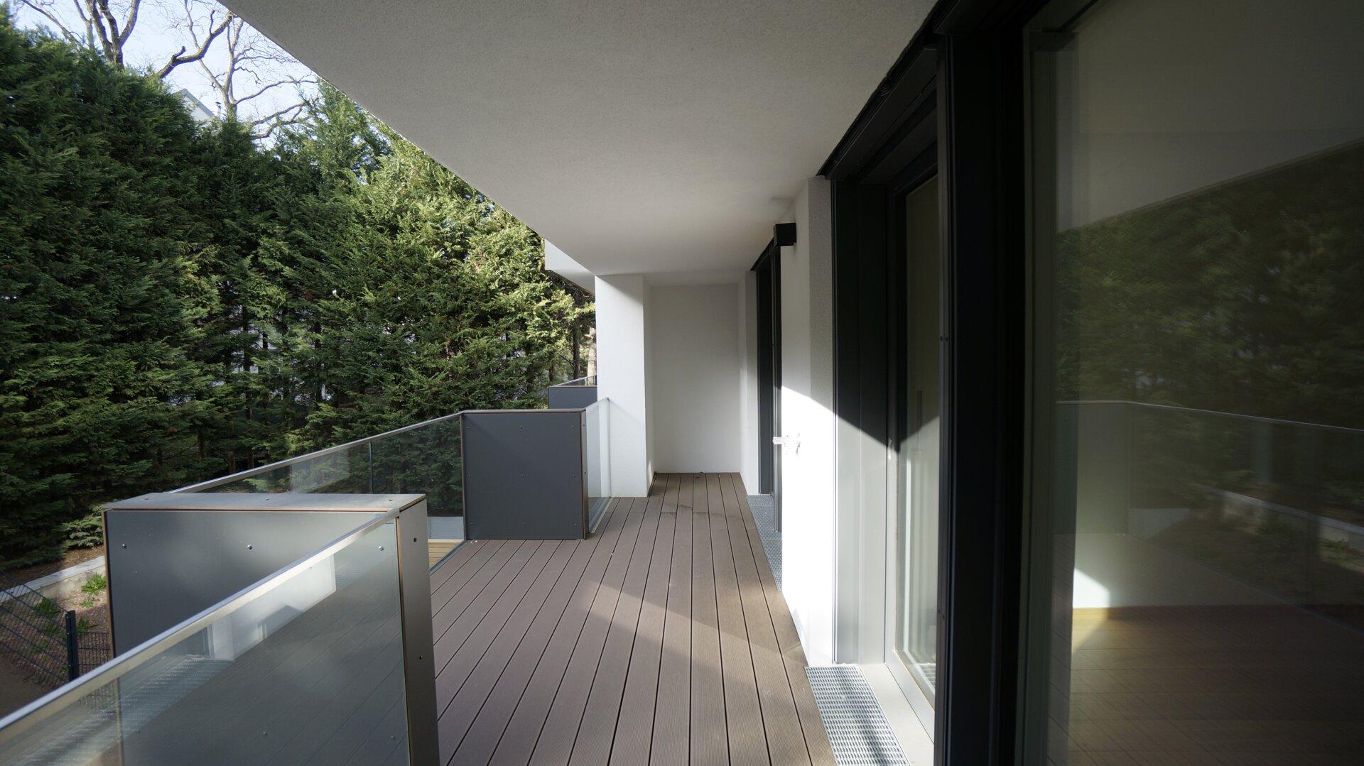 Loggia + Balkon