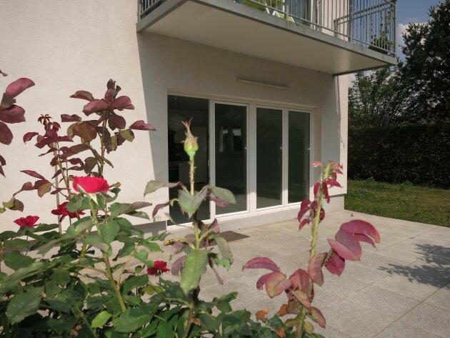 Wunderbare Neubauwohnung mit Garten in Gerasdorf bei Wien.