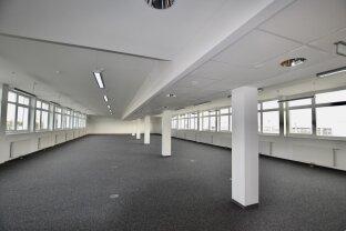 Modernste Büroräumlichkeiten, flexibel zu gestalten