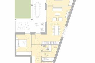 Provisionsfreie 3-Zimmer-Erstbezugswohnung in der Smart City Graz