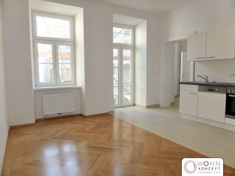 Toprenovierter 75m² Altbau mit Einbauküche u. Balkon - 1070 Wien