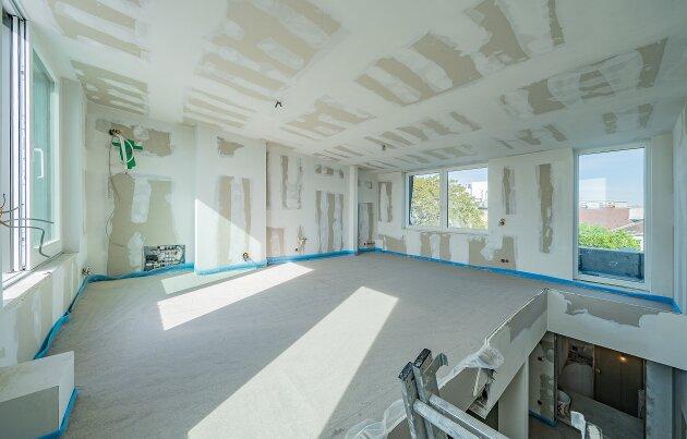 Foto von NEU! ++  !! Erstbezug !! Wien-Blick !! 2 Terrassen + Balkon + 3-4 Zimmer * Dachgeschoßwohnung !! Top-Revitalisierte Altbau-Haus !! 1180 Wien ++