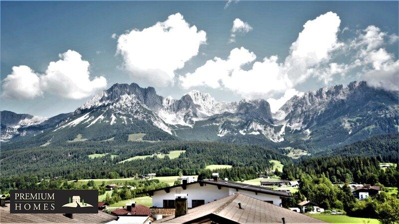Ellmau - Eigentumswohnung - Balkon-blick Richtung Nordwesten