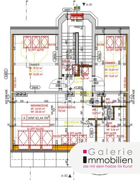 Exklusive Dachgeschoßwohnung mit Grünblick, Eigengarten und Parkplatz Objekt_35143 Bild_52