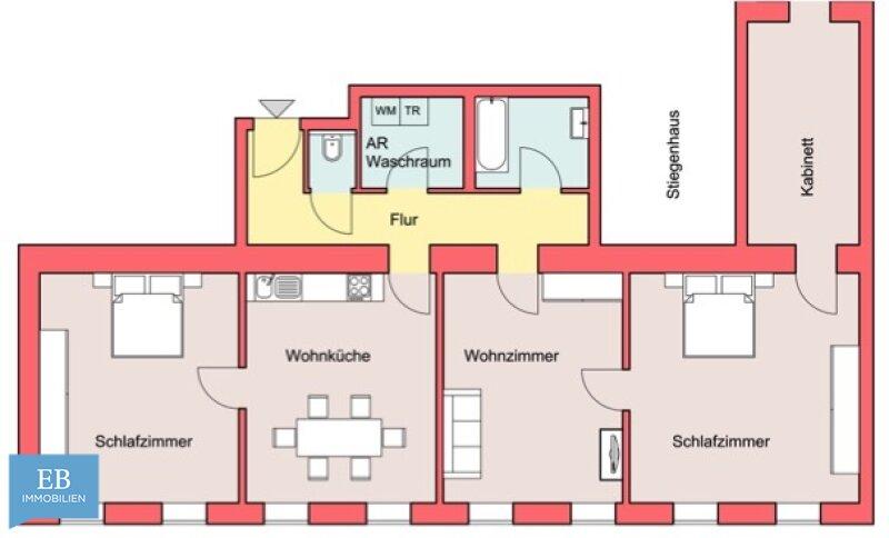 WOHNEN in urbaner Umgebung  - 4 ZIMMERN / MODERN / HELL /  / 1160Wien / Bild 7