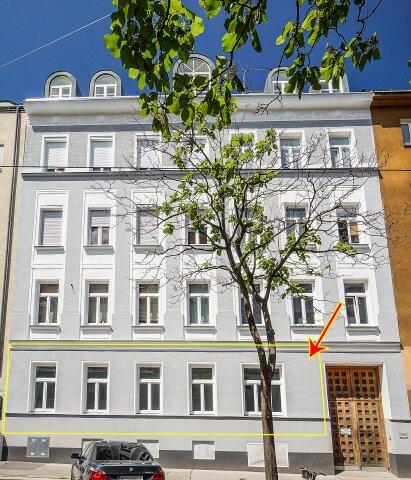 Foto von NEU ++ Bezugsfertig: Altbauwohnung ca. 100 m2, 3 Zimmer, nähe U6-Station Philadelphiabrücke, 1120 Wien ++