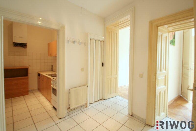 ++ 2 Zimmer bei WIEN MITTE ++ Wohnen mitten im Dritten ++ sanierungsbedürftige Altbauwohnung in absoluter Toplage /  / 1030Wien / Bild 3