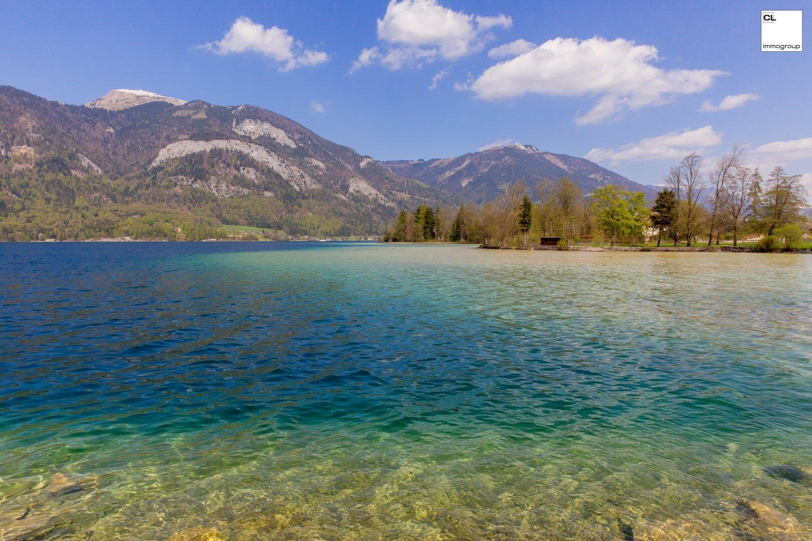 Traumhaftes Seegrundstück direkt am Wolfgangsee