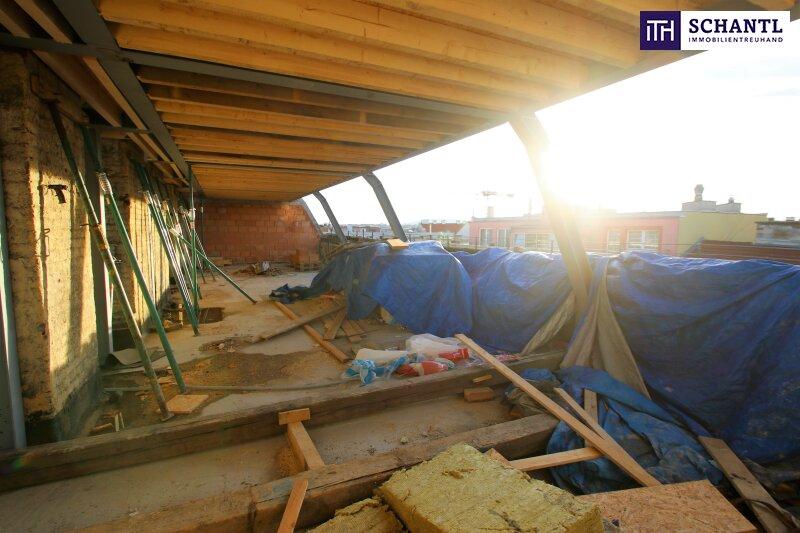 Ihre Wohnungssuche endet HIER! Neue Dachgeschoss-Wohnung mit 3 Terrassen + perfekte Raumaufteilung + Parkplatzmöglichkeit! /  / 1150Wien / Bild 4