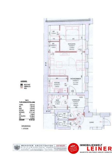 Ruhig wohnen auf 55m² im Zentrum Schwechat Objekt_8910 Bild_910