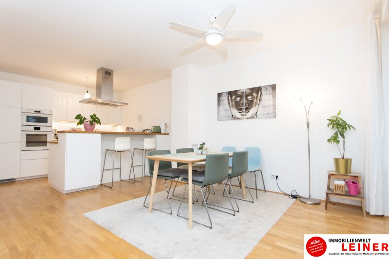 Schwechat - 4 Zimmer Mietwohnung mit traumhaftem, 200 m² großem, eigenem Garten! Objekt_12290