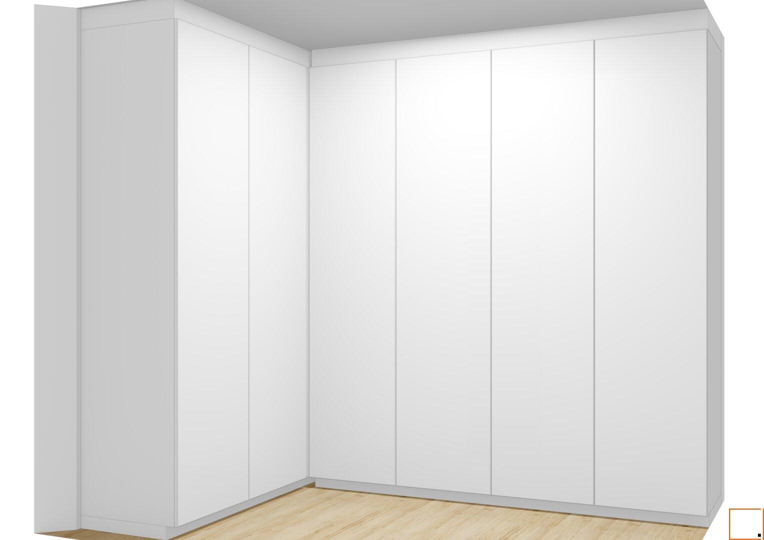 Visualisierung Einbauschrank Schlafzimmer