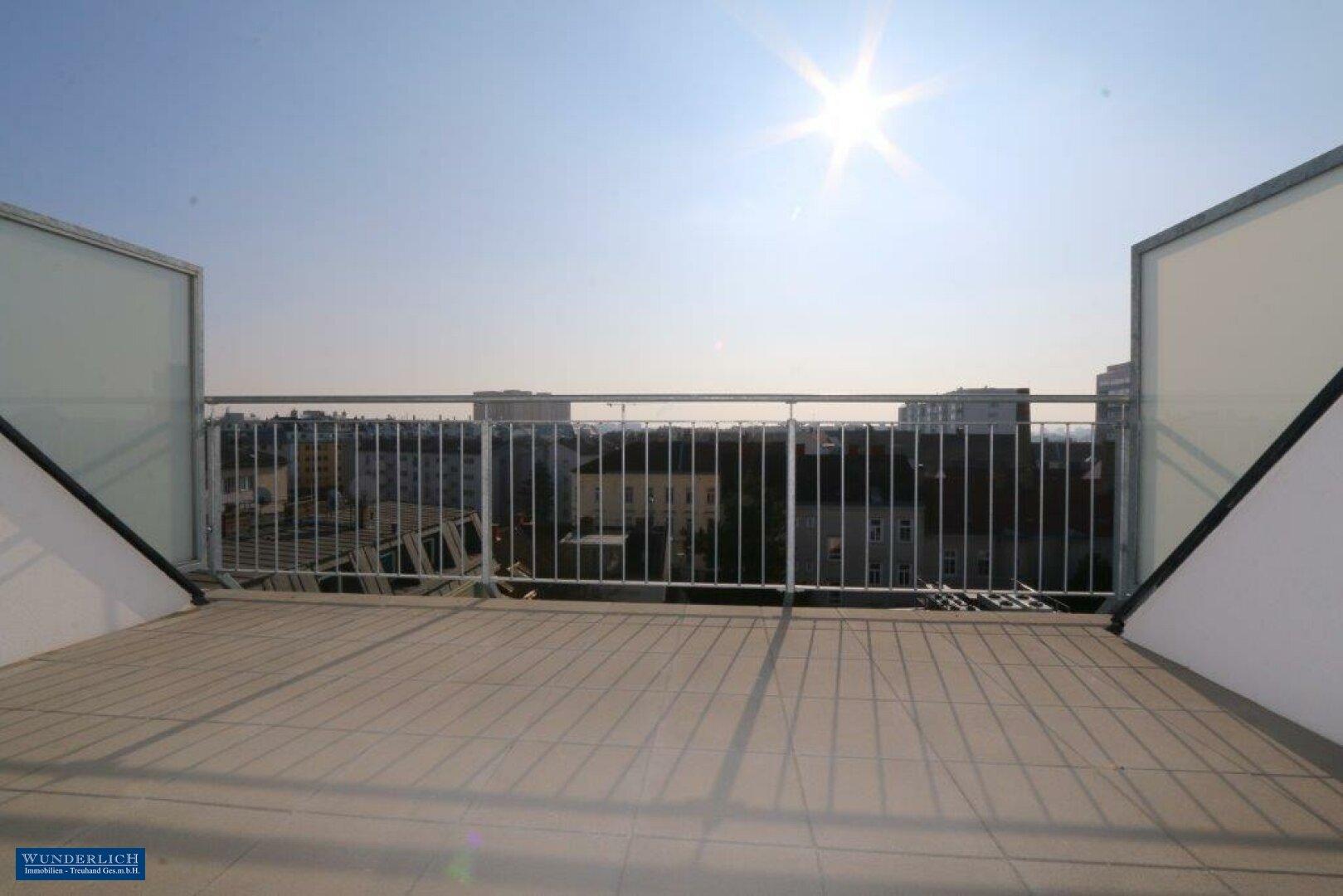 Südseitige Sonnenterrasse