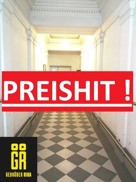 TOP PREIS ! WG GEEIGNET - HELLE ALTBAU ECKWOHNUNG - Saniertes Haus - 3-Zimmer Wohnung - Adaptierungsbedürftig