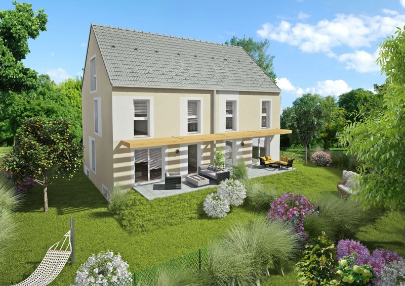 Neues Doppelhaus mit herrlichem Blick in schönster Ruhelage
