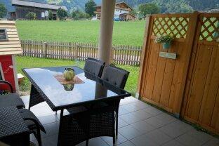 FÜGEN - KAPFING - Helle 4 Zimmermietwohnung + Terrasse und Garten