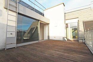 CZERNINGASSE   4-Zimmer-DG-Wohnung mit 2 Terrassen beim Praterstern