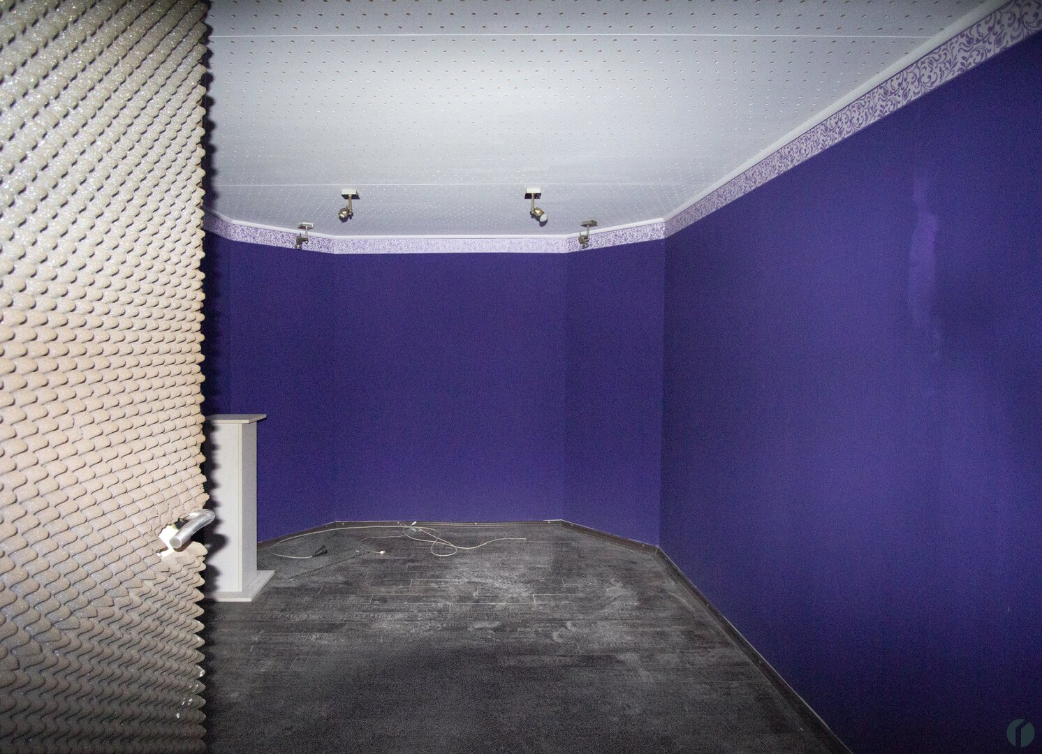 Tonstudio - Raum im Keller