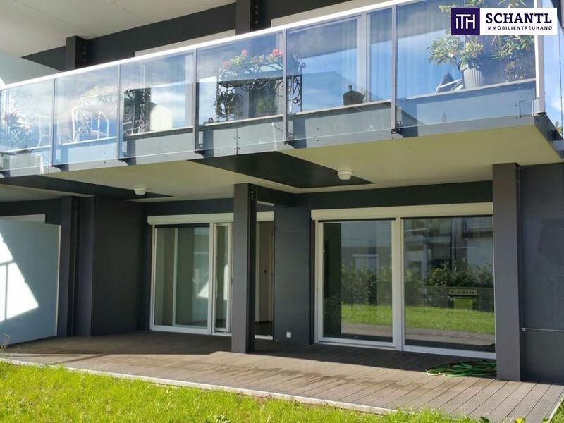 TOP-PREIS+AUSGEZEICHNETE LAGE + NEUBAU / GARTENWOHNUNG + große Terrassen + Eigengarten + Lichtdurchflutet + Grün-/Ruhelage + Tiefgarage in Graz, Nähe LKH und UNI! /  / 8047Graz / Bild 0