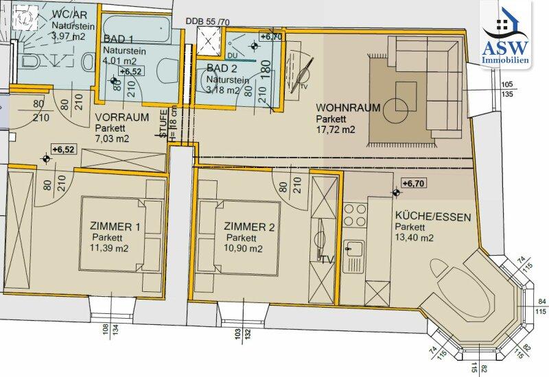 Exklusive 3-Zimmer Neubauwohnung im Kitzbüheler Zentrum /  / 6370Kitzbühel / Bild 0