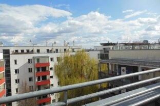 Helle Maisonette Dachgeschoss Wohnung mit Blick über Floridsdorf!
