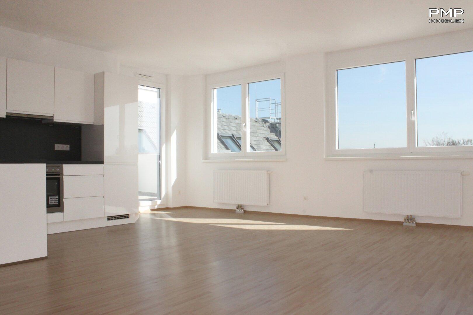 Wohnküche mit Terrassenzugang
