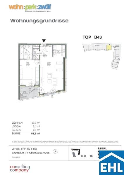 Modernes Wohnen in Grünlage mit optimaler Verkehrsanbindung /  / 1120Wien / Bild 0