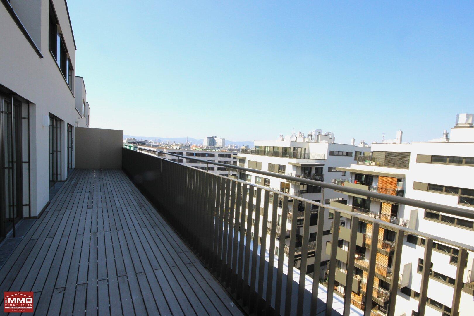 Terrasse mit Blick auf den Stephansdom