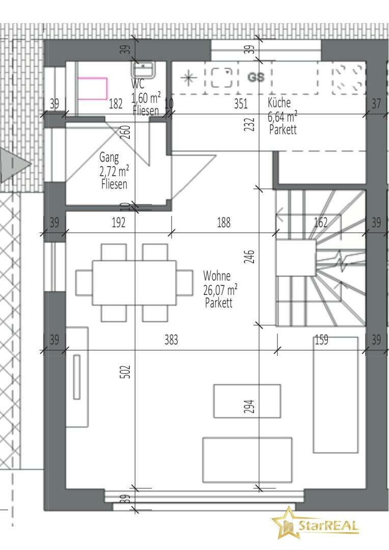 HAUS 4 Erdgeschoss