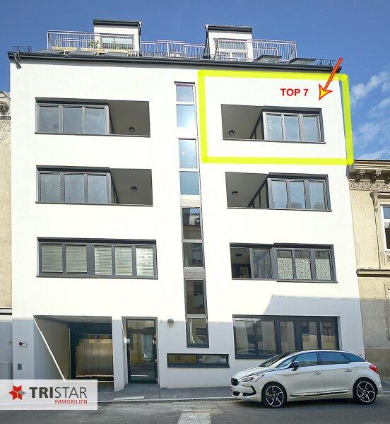 NEU! ++ Ideal als KAPITALANLAGE oder zur EIGENNUTZUNG ++ Nur noch 3 Wohnungen: Neubau (2016), Schlüsselfertig, 3 Zimmer Neubau-Wohnung in 1170 Wien, Loggia, Garagenplatz im Haus (Top 7) ++