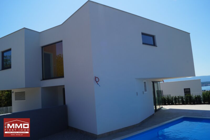 Design-Insel-Traumhaus mit Panorama-Blick auf die Kvarner Bucht /  / 51511Sveti Vid-Miholjice / Bild 7