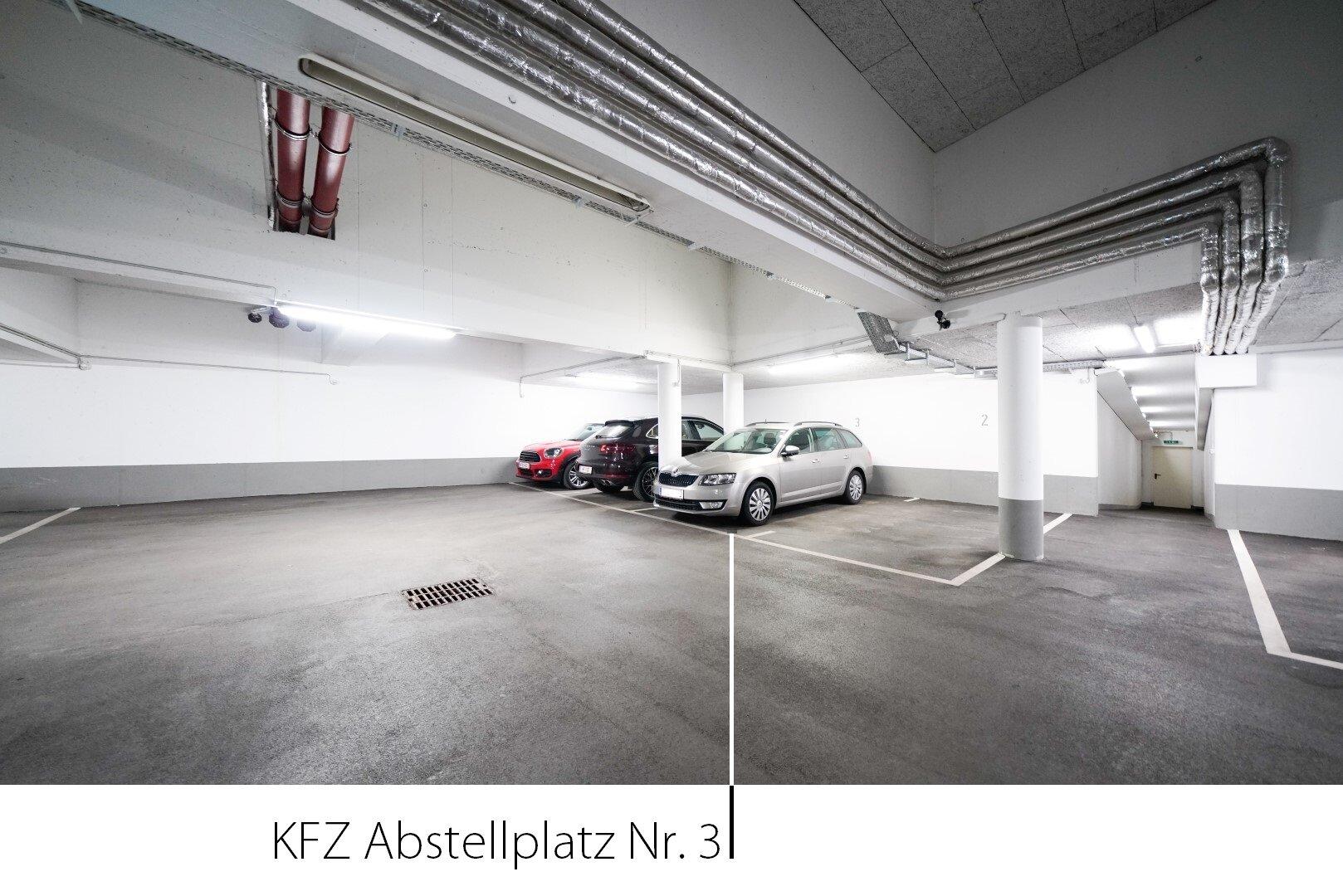 KFZ Abstellplatz