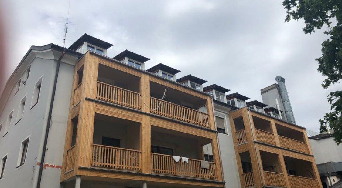 Sonnige, ruhig gelegene Dachgeschoßwohnung in Schwaz