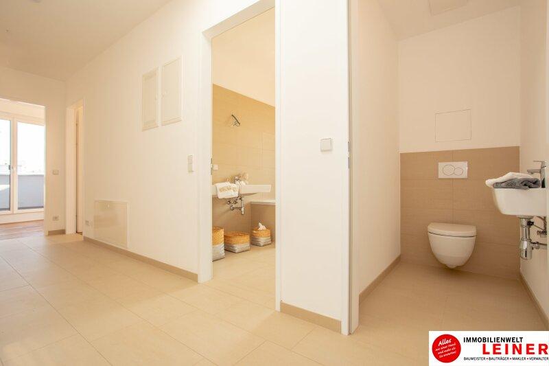 100 m² PENTHOUSE *UNBEFRISTET*Schwechat - 3 Zimmer Penthouse im Erstbezug mit 54 m² großer südseitiger Terrasse Objekt_8649 Bild_115