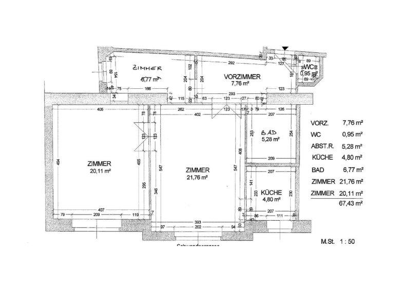 Technisches Museum, Gepflegte 2,5 Zimmer Wohnung /  / 1150Wien / Bild 9