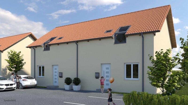 """Gelegenheit! Doppelhaushälfte mit großem Garten (Haus 11 """"zum Rebstock"""")"""