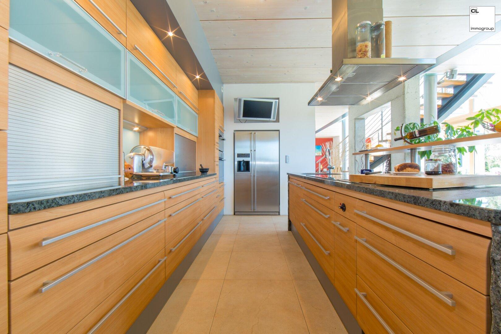 Schöne Linien im Küchenbereich