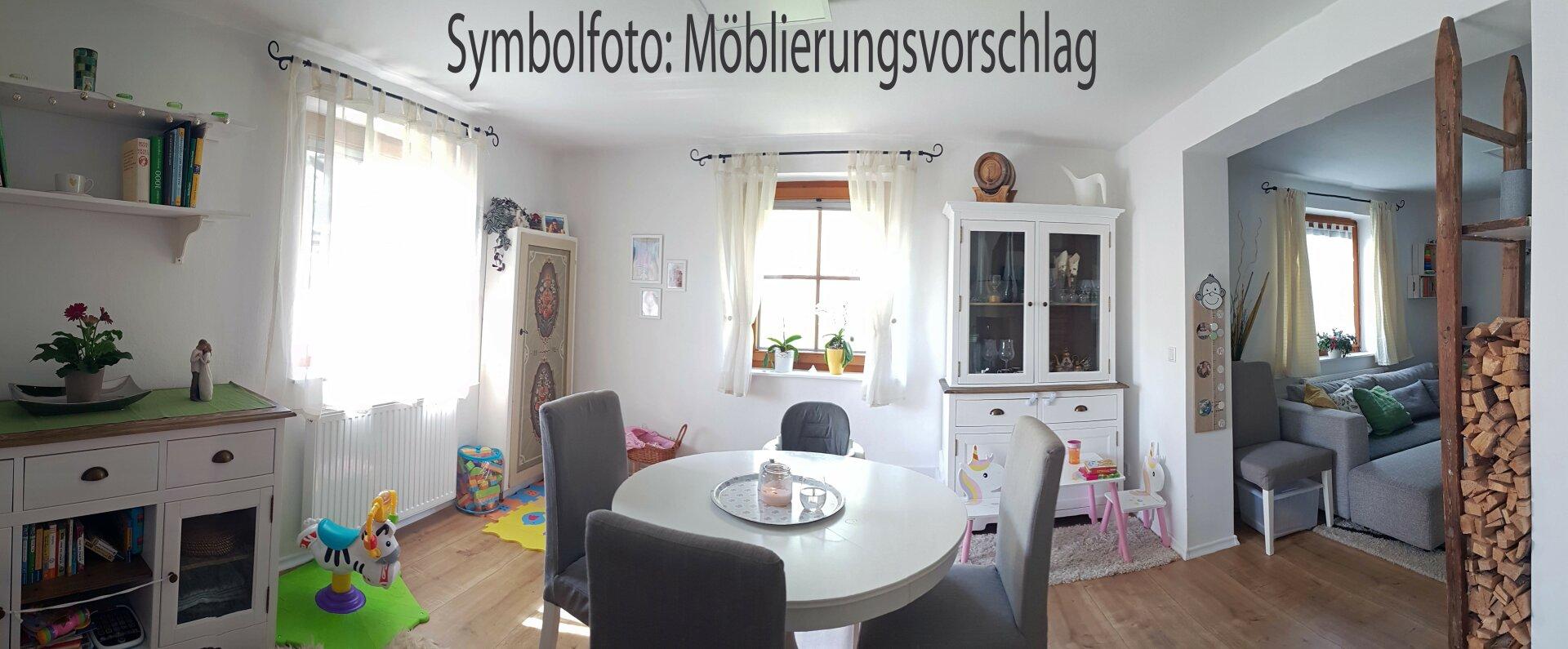 Essbereich möbliert, Einfamilienhaus Fieberbrunn