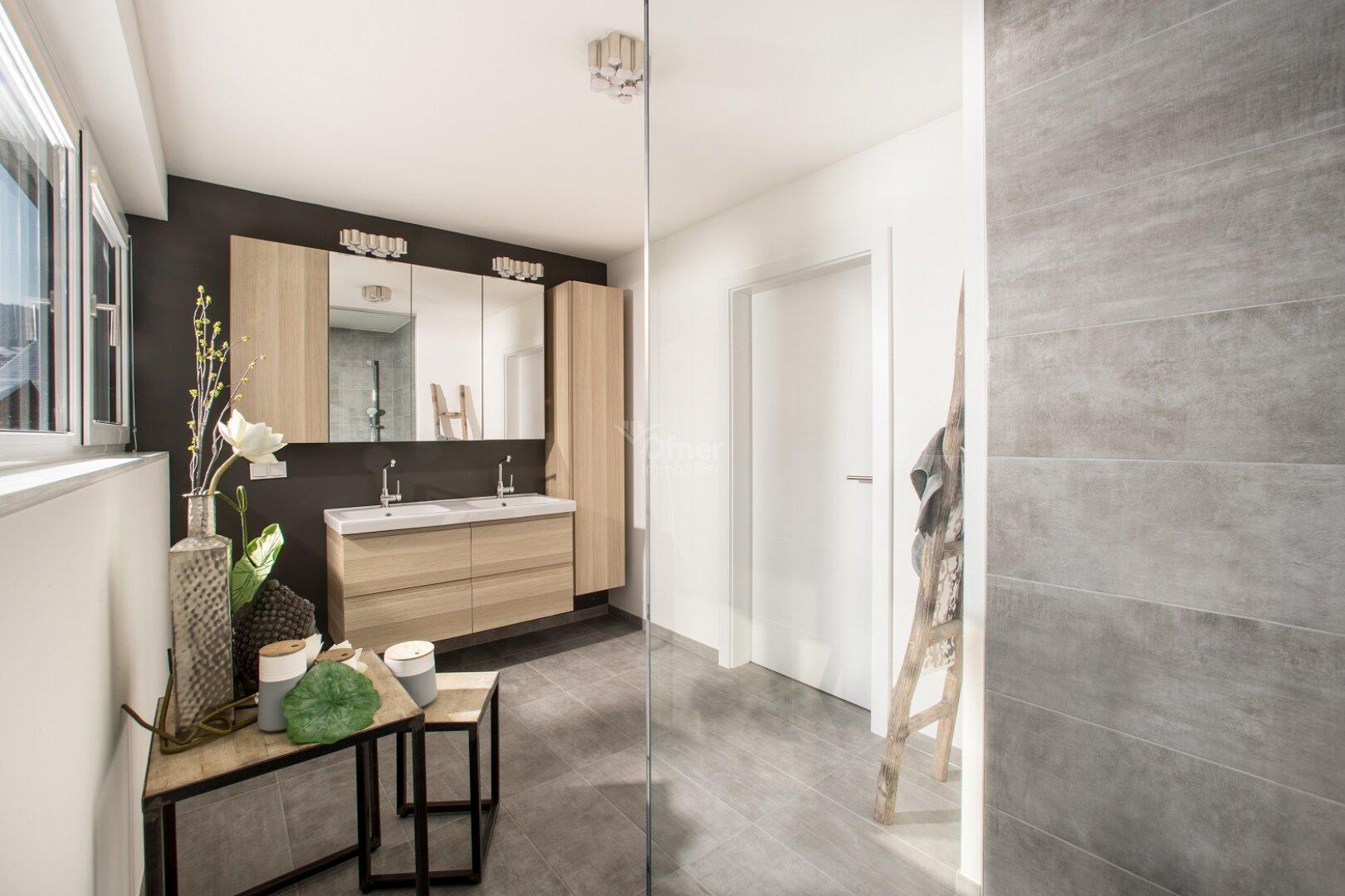 Musterhaus Badezimmer