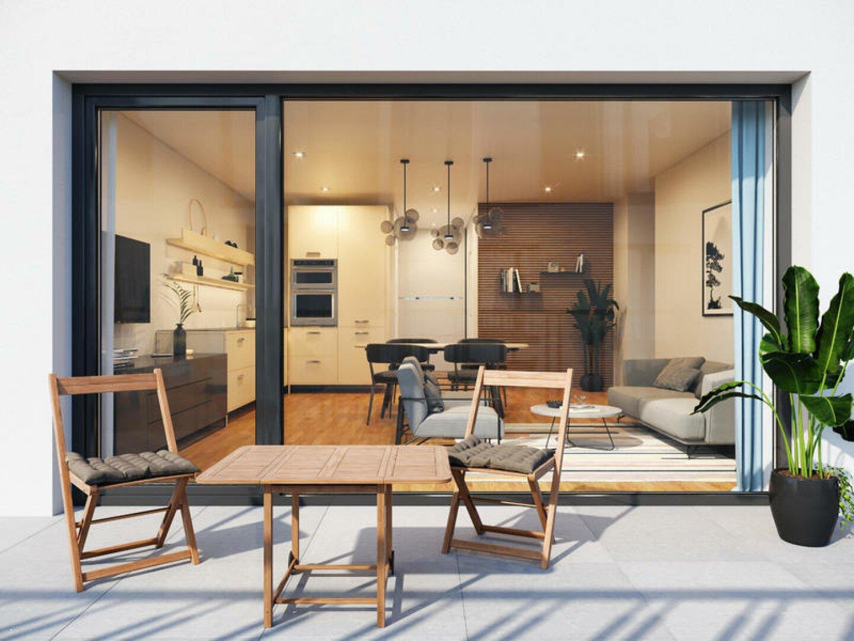 Wohnzimmer / Terrasse