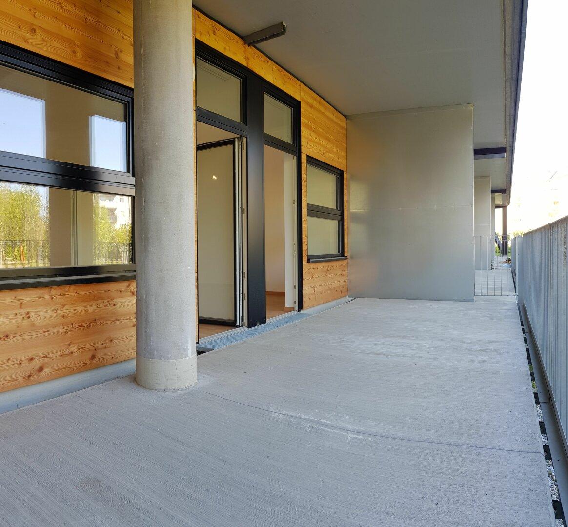 Loggia & Terrasse