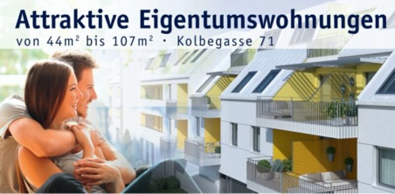 SONNIGE DACHGESCHOß-WOHNUNG MIT IDEALEM, KOMPAKTEN SCHNITT /  / 1230Wien / Bild 1