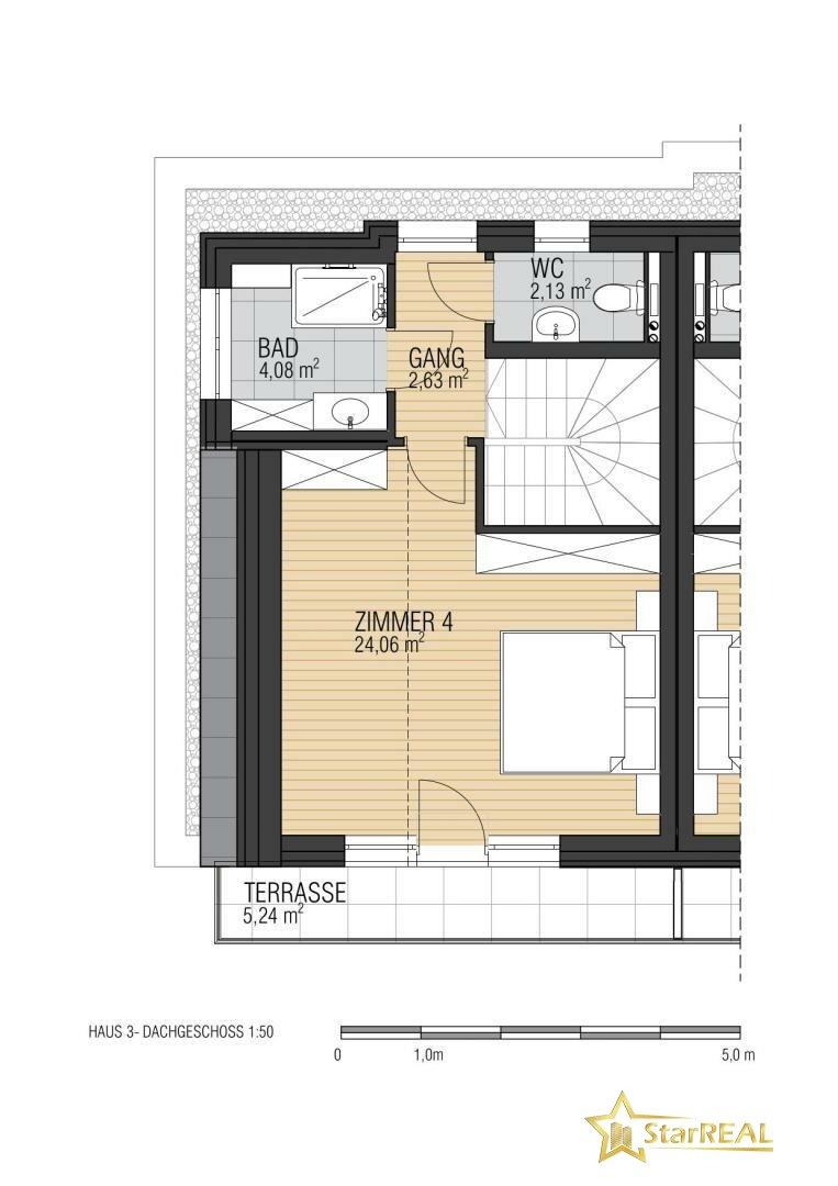 Dachgeschoss HAUS 3